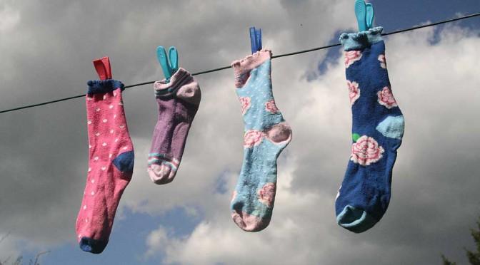 """<b>Zum """"Tag der verlorenen Socke""""</b>"""