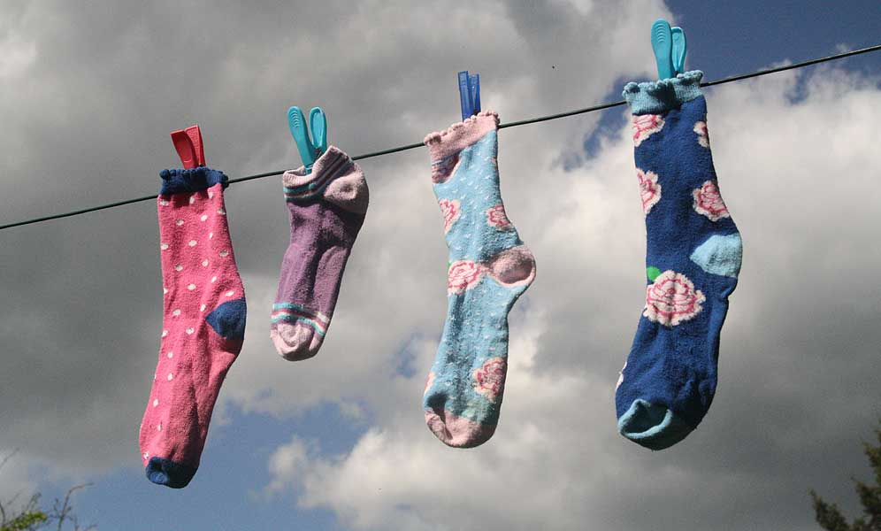 Tag der verlorenen Socke