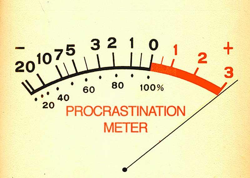Aufschieben-Prokratination-Procrastintion